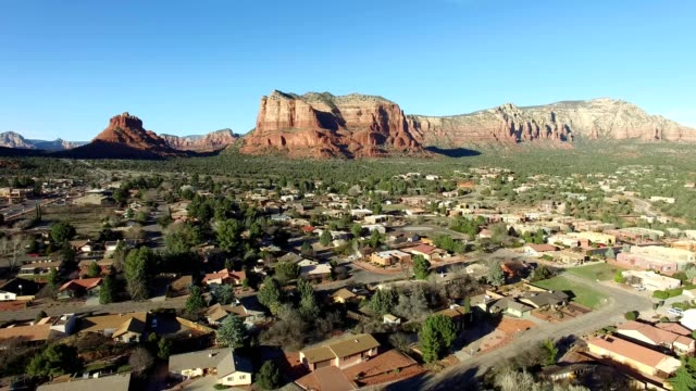 oak creek neighborhood in arizona - red rocks stock videos and b-roll footage