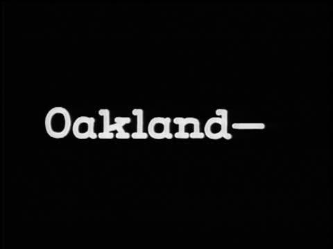 "b/w 1928 slate: ""oakland-the cosmopolitan six"" / industrial - 1928 stock videos & royalty-free footage"