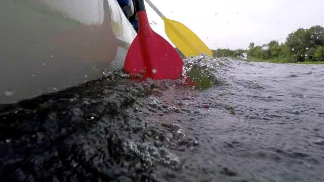 oars in the water. - rafting stock videos & royalty-free footage