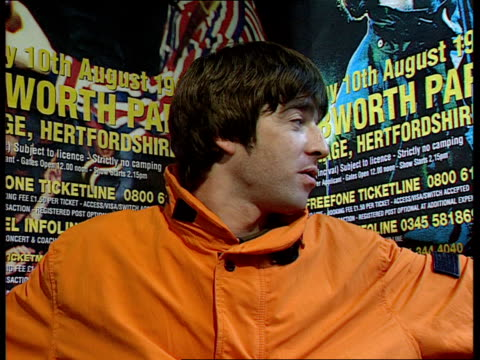 special report; cms noel gallagher intvwd sot - didn't think we'd get this big / liam would probably say he would've thought we would be bigger... - オアシス点の映像素材/bロール