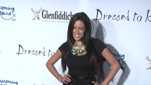 'obama girl' amber lee ettinger at the 7th annual 'dressed to kilt' charity fashion show at new york ny - dressed to kilt stock videos & royalty-free footage