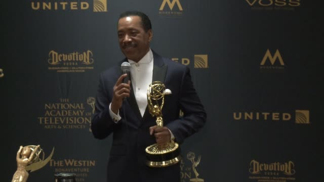 SPEECH Obba Babatunde at 43rd Annual Daytime Emmy Awards at Westin Bonaventure Hotel on May 01 2016 in Los Angeles California