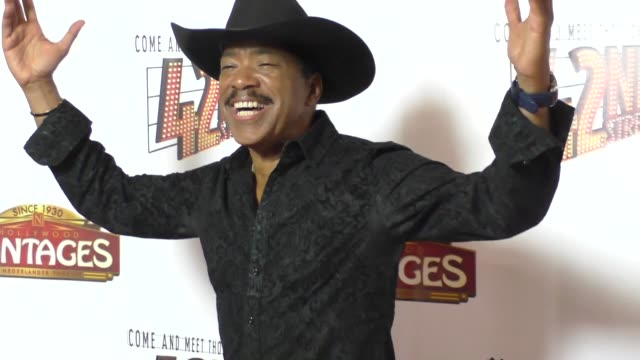 Obba Babatunde at the Opening Night Of 42nd Street at the Pantages Theatre in Hollywood in Celebrity Sightings in Los Angeles