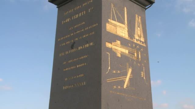 cu obelisk at place de la concorde / paris, ile de france, france - obelisk of luxor stock videos & royalty-free footage