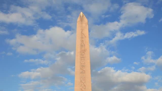hd: obelisk of theodosius - ottoman stock videos & royalty-free footage