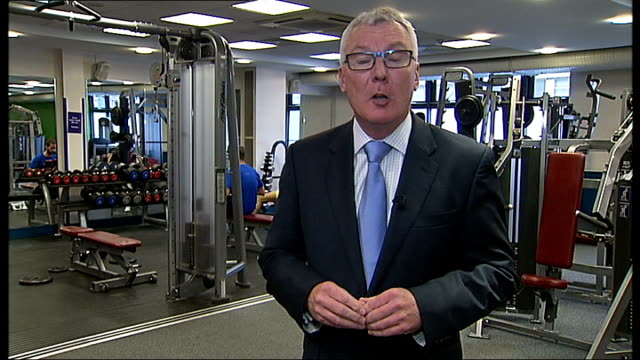 obese who refuse exercise could face benefit cuts england london int low angle view man doing bench presses pull man lifting weights in gym man using... - rowing stock videos & royalty-free footage