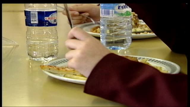 surgical solution may be offered to obese teenagers date hands of schoolchildren eating school lunches hamburger on a plate baked potatoes filled... - baked potato stock videos & royalty-free footage