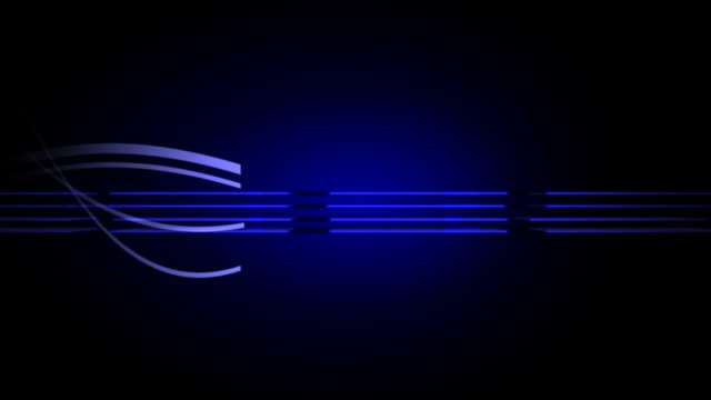 Oblongs 01 Blue Electric Background Loop