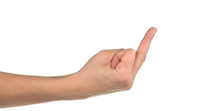 hd: obscene gesturing - obscene gesture stock videos and b-roll footage