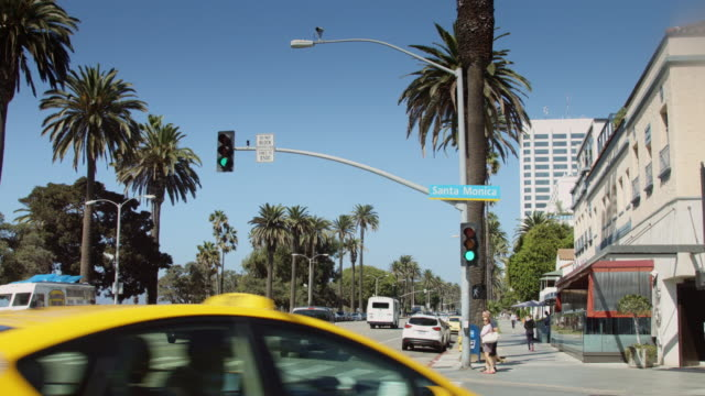Ocean Avenue and Santa Monica Boulevard