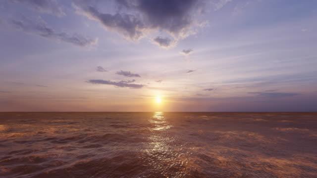 ocean background - digital animation stock videos & royalty-free footage
