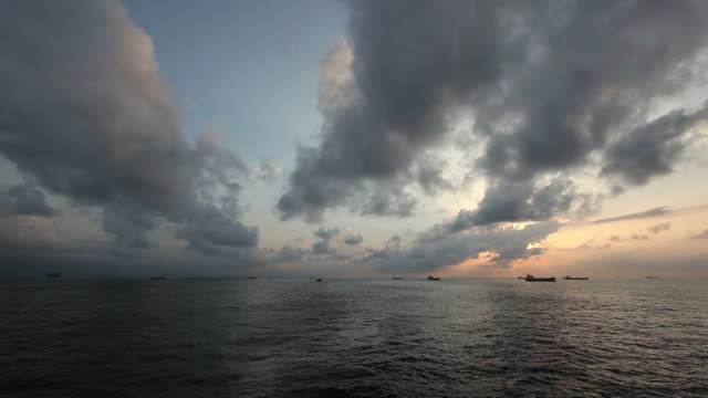 ocean clouds - nigeria stock videos and b-roll footage
