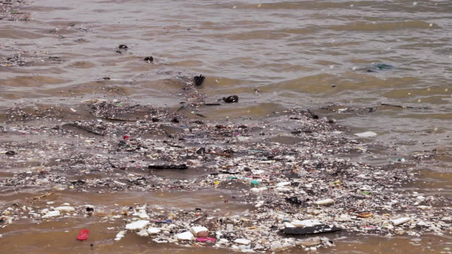 ocean garbage patch plastic pollution close up - ruined stock videos & royalty-free footage