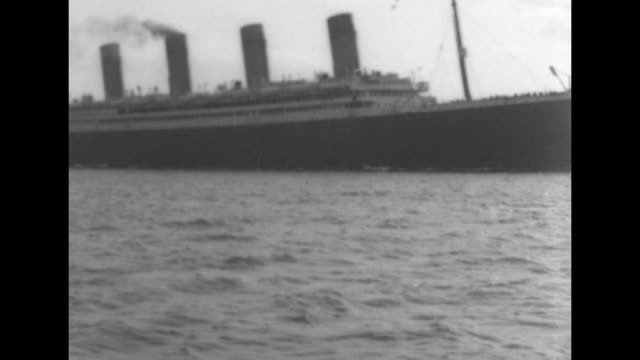 exact year not known documentation incomplete - ocean liner stock videos and b-roll footage