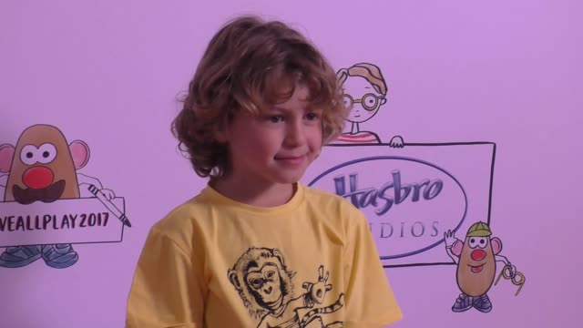 ocean maturo at the zimmer children's museum event on april 30 2017 in los angeles california - maturo stock videos & royalty-free footage