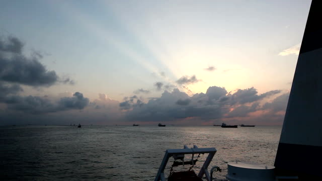 ocean sunrise - nigeria stock videos and b-roll footage
