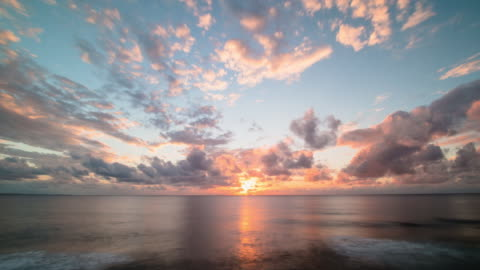 t/l, ocean sunset. - horizon stock videos & royalty-free footage
