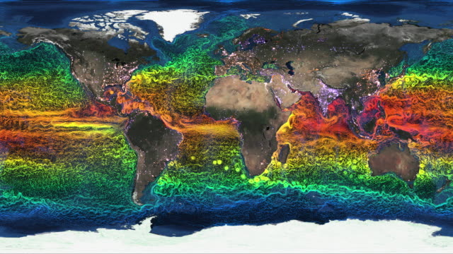 ocean temperature climate fluctuation - human representation stock videos & royalty-free footage