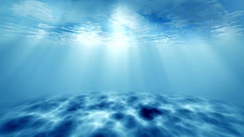 ocean underwater - refraction stock videos & royalty-free footage