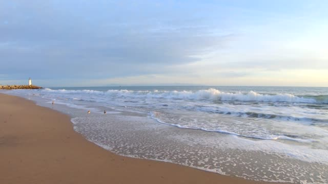 ocean - panning video stock e b–roll