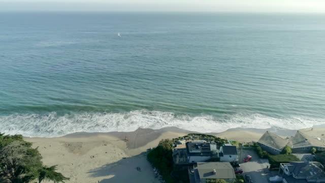 海 - カリフォルニア州サンタクルーズ点の映像素材/bロール
