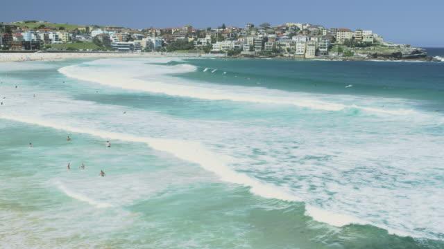 Ocean Waves at Bondi Beach, Sydney, New South Wales, Australia