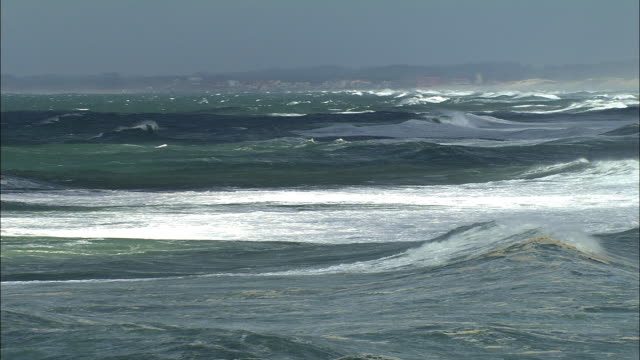 MS, Ocean waves, Biarritz, Aquitaine, France