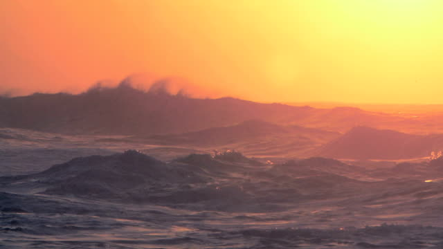 ocean waves crashing on the north shore of hawaii - oahu stock videos and b-roll footage