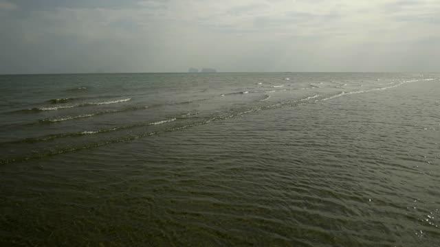 vídeos de stock e filmes b-roll de ondas do oceano. oceano índico. - organismo aquático