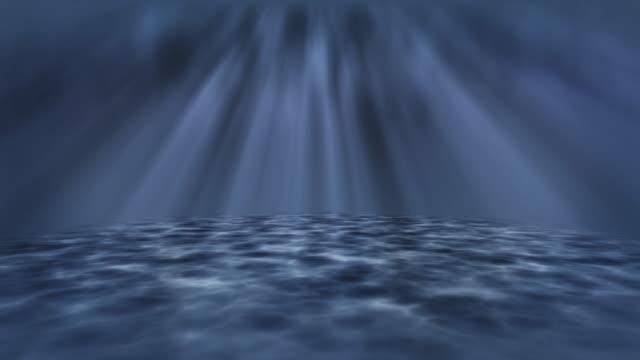 ocean waves underwater - depth marker stock videos & royalty-free footage