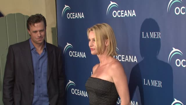 oceana la mer celebrates world oceans day los angeles ca 6/8/09 - january jones stock videos & royalty-free footage