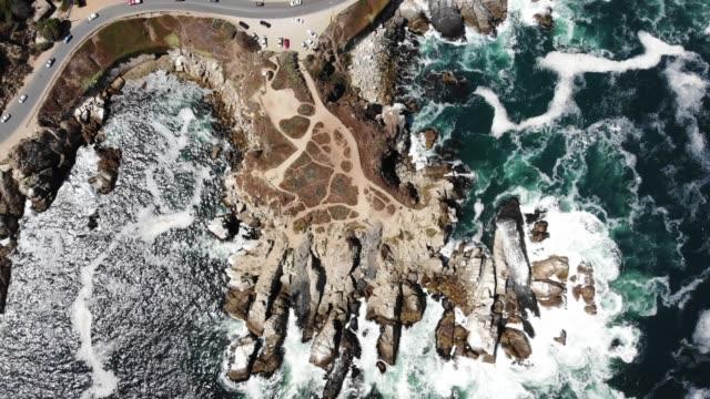 oceanic rock av concón/concon oceanic rock - mar bildbanksvideor och videomaterial från bakom kulisserna