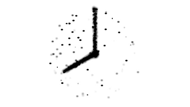 transcendental clock : 8 o'clock (loop) - 24 hrs stock videos and b-roll footage