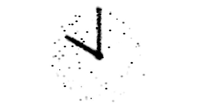 transcendental clock : 10 o'clock (loop) - 24 hrs stock videos and b-roll footage