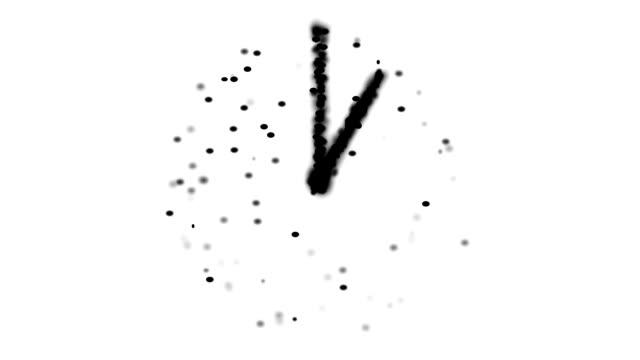 METAPHYSISCHES UHR: 1 Uhr (Endlosschleife)