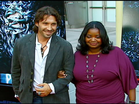 Octavia Spencer and guest at the 'Pulse' Los Angeles Premiere at Arclight Cinemas in Hollywood California on August 10 2006