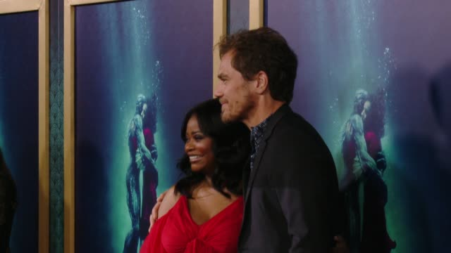 Octavia Spencer and Michael Shannon at 'The Shape Of Water' Los Angeles Premiere Presented By Fox Searchlight Pictures at the Academy of Motion...