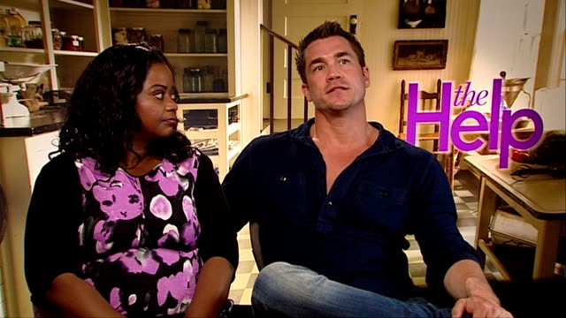 Octavia Spencer and Tate Taylor on the films tone what the film is about courage personal freedom and more at the The Help Interviews at London...
