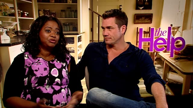 Octavia Spencer and Tate Taylor on their costars Mr Spielbergs comments on the film and more at the The Help Interviews at London England