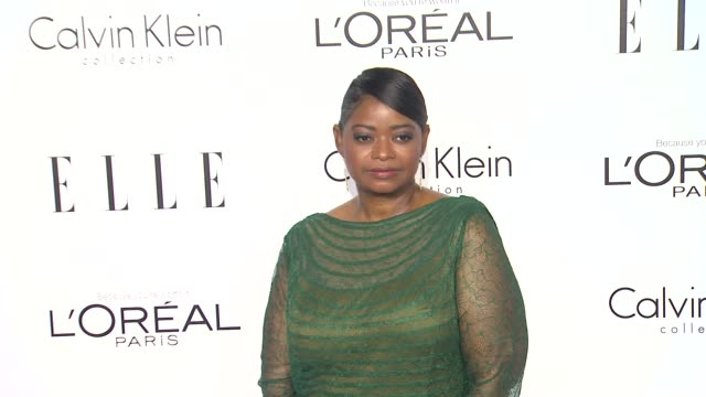 Octavia Spencer at 19th Annual ELLE Women In Hollywood Celebration on in Beverly Hills CA