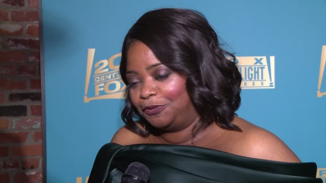 INTERVIEW Octavia Spencer at 20th Century Fox Fox Searchlight Oscars Party 2018 at TAO on March 04 2018 in Los Angeles California