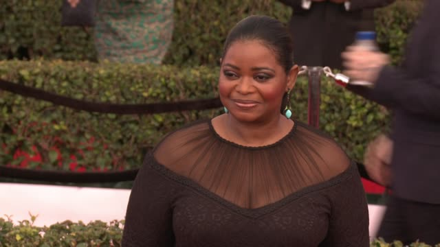 Octavia Spencer at 23rd Annual Screen Actors Guild Awards Arrivals at The Shrine Expo Hall on January 29 2017 in Los Angeles California
