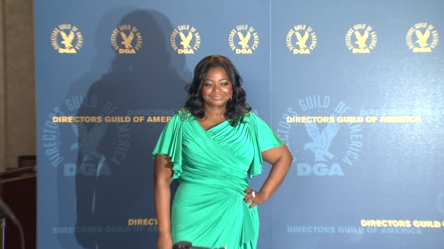 Octavia Spencer at 64th Annual DGA Awards Press Room on 1/28/12 in Los Angeles CA