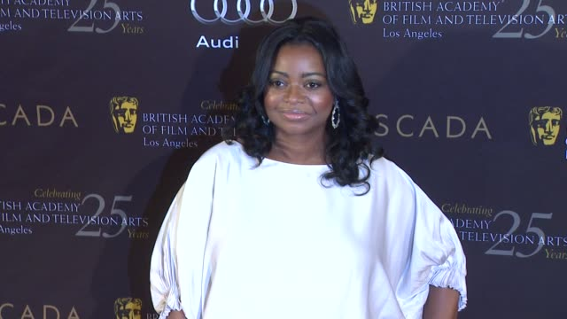 octavia spencer at bafta los angeles 18th annual awards season tea party on 1/14/2012 in beverly hills ca - tea party stock videos and b-roll footage