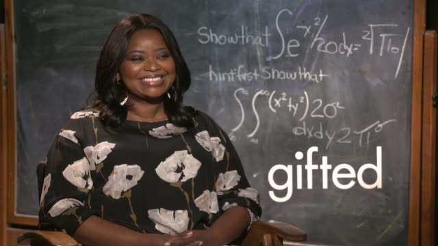 INTERVIEW Octavia Spencer at 'Gifted' Press Junket on March 26 2017 in Los Angeles