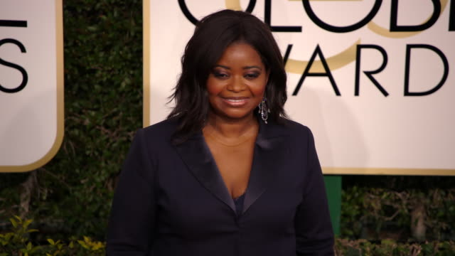 Octavia Spencer at the 74th Annual Golden Globe Awards Arrivals at The Beverly Hilton Hotel on January 08 2017 in Beverly Hills California 4K