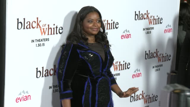 Octavia Spencer at the 'Black Or White' Los Angeles Premiere at Regal Cinemas LA Live on January 20 2015 in Los Angeles California