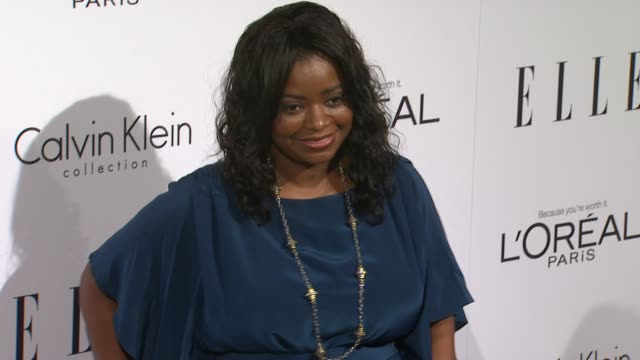 Octavia Spencer at the ELLE's 18th Annual Women in Hollywood Tribute at Beverly Hills CA