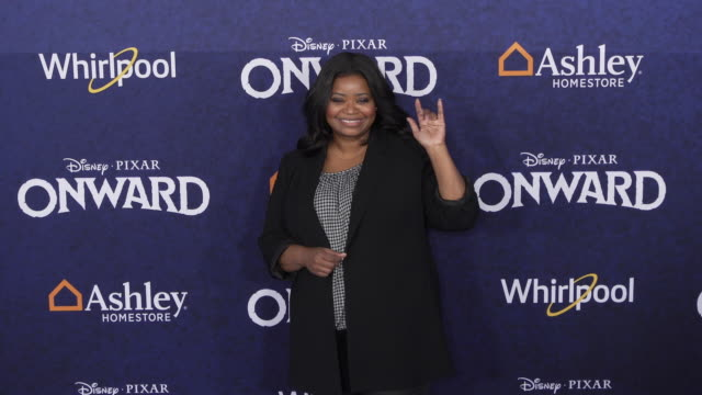octavia spencer at the onward world premiere at the el capitan theatre on february 18 2020 in hollywood california - el capitan theatre stock videos & royalty-free footage