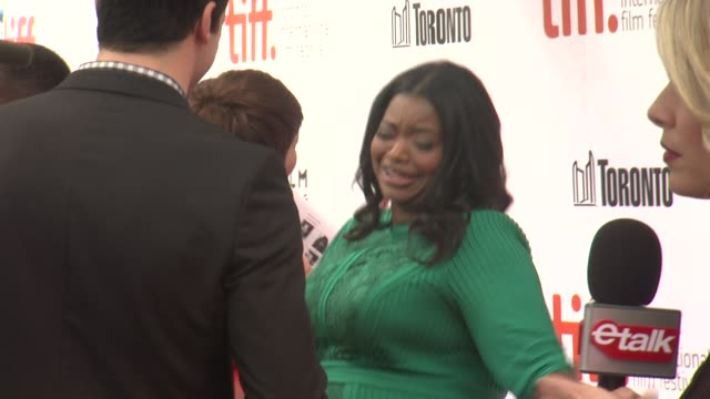 Octavia Spencer 'Black And White' Premiere 2014 Toronto International Film Festival at Roy Thomson Hall on September 06 2014 in Toronto Canada